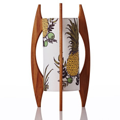 Small rocket lamp in pineapple botanical