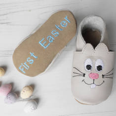 Personalised rabbit slippers