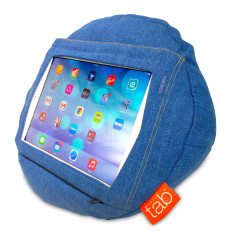 HAPPYtab iPad Cushion in City Jeans