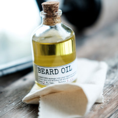 Beard Oil & Face Rag