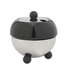 Bredemeijer Cosy sugar bowl in black