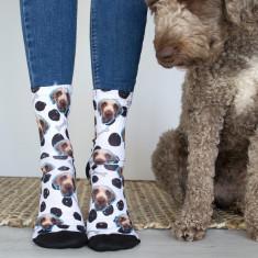 Personalised My Dog Photo Socks