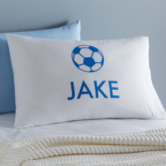 Personalised Soccer Pillowcase