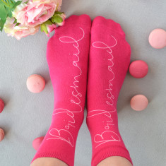 Personalised Bridesmaid Socks