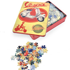 Vespa jigsaw puzzle in tin gift box (540 piece, various designs)