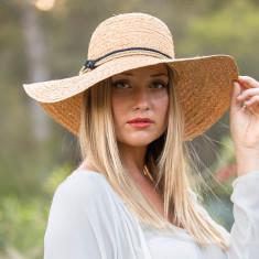 Carmen floppy capeline hat