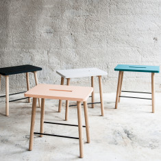 Scandinavian Side Table or Stool