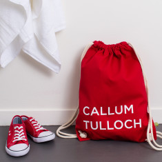 Personalised School Kit Bag