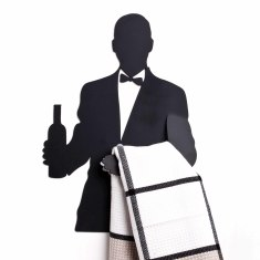 Wine Waiter - Kitchen Towel Hanger