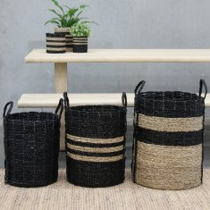 Merricks baskets in black