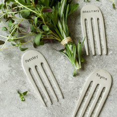 Personalised Herb Markers (set of 4)