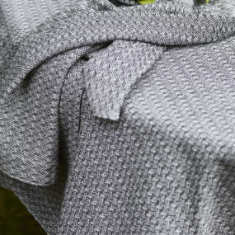 Table Napkins In Herringbone