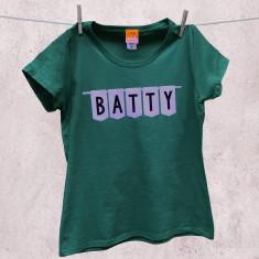 Batty t-shirt for older women