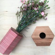 Hexi Vase (Medium)