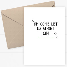 Funny Christmas Cards (pack of 8)