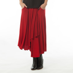 Dagny red skirt