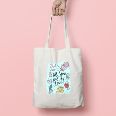 All You Sew Is Love Tote Bag