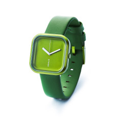 Hygge Vari fashion watch, forest green