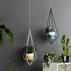 Diamond Plant Hanger