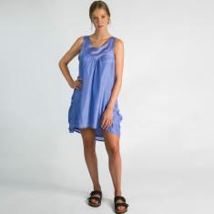 Serecen silk dress in mauve