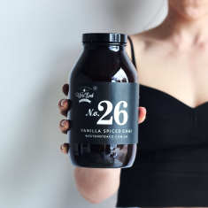 Organic Vanilla Spiced Chai Loose Leaf Tea Amber Jar
