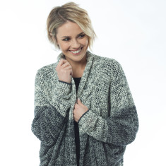Larine grey cardigan