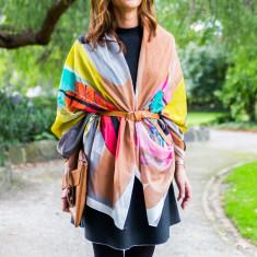 Plume oversized scarf