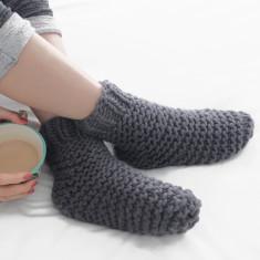 Cosy Slumber Bed Socks Knitting Kit