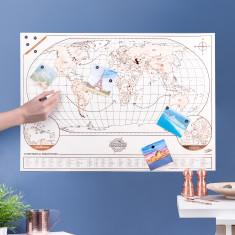 Magnimap Copper Magnetic Map