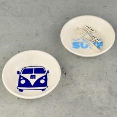 Mens Cufflink and Jewellery Dish - Surf & Camper Van