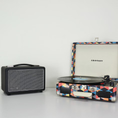 HolySmoke Bluetooth Newnest Speakers & Turntable