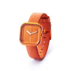Hygge Vari fashion watch, sunset orange
