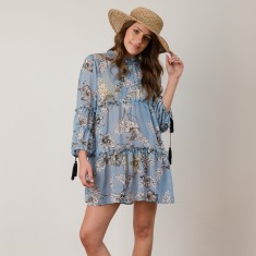 Florence sheer beach dress