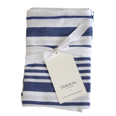 Striped tea towels (set of 3)