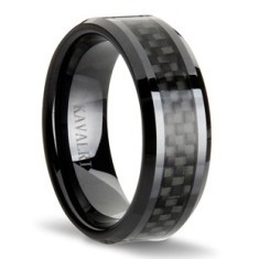 Double black carbon fibre ring