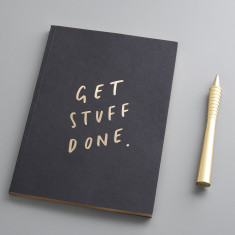 Get Stuff Done A5 Notebook