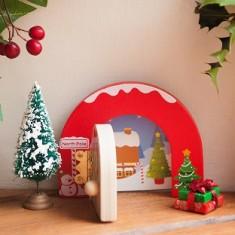 Santa's Christmas door