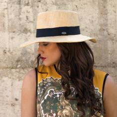 Signature fine woven raffia hat