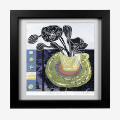 Framed Fiona Roderick 'Poppies and Tea' print
