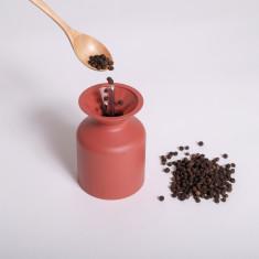Mulino – Salt & Pepper Mill in Brick Red