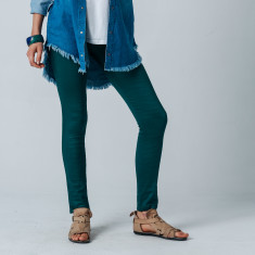 Slinky Jean in Emerald