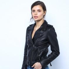 Abby Moto Leather Jacket