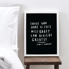 Those Who Dare Art Print