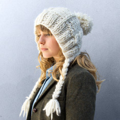 Make Your Own Cable Coo Hat Knitting Kit