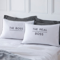 The Boss And Real Boss Pillowcases