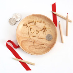 Personalised Christmas Coin Tray - Featuring your child's drawing