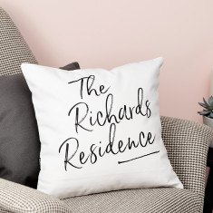 Personalised Home Cushion