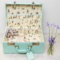Memory Suitcase Keepsake Box And Toy