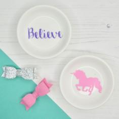Unicorn Girls Mini Ring & Trinket Dish
