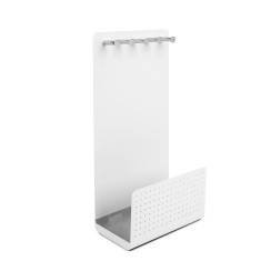 Umbra curio jewellery stand in white